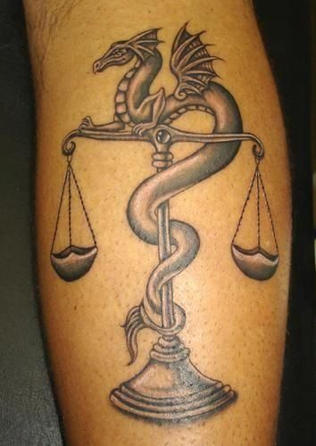 Libra Tattoos For Females (1)
