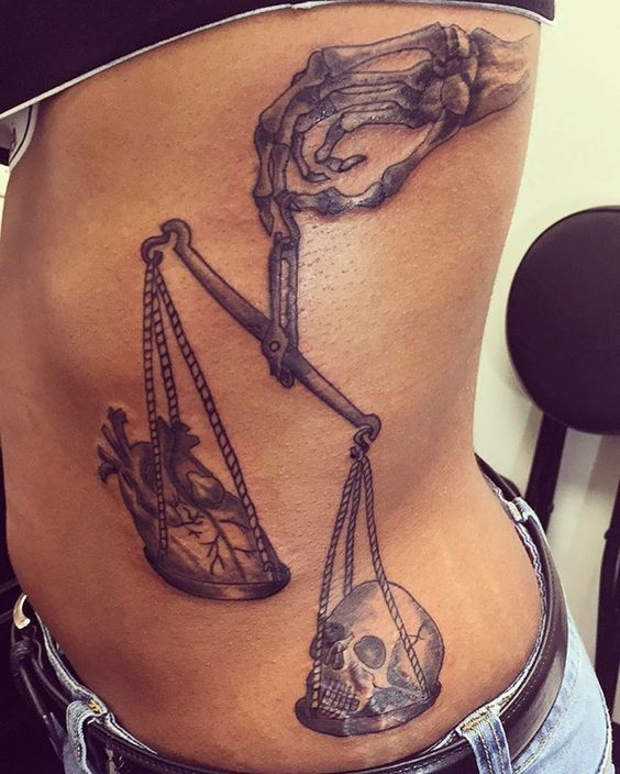 Libra Tattoos For Females (4)