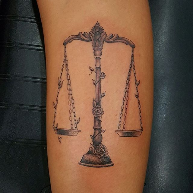 Libra Tattoos For Females (5)