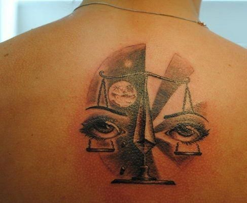 Libra Tattoos For Females (6)
