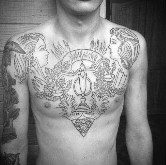 Libra Tattoos For Guys (7)