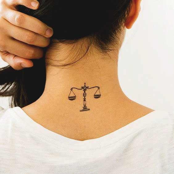 Libra Tattoos On Wrist (1)
