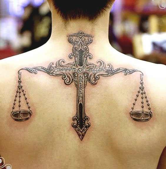 Libra Tattoos On Wrist (2)