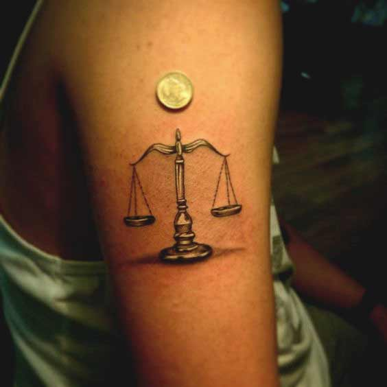 Libra Tattoos On Wrist (6)