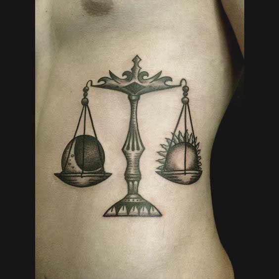 Libra Tattoos On Wrist (9)