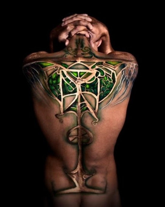 Libra Zodiac Sign Tattoo (5)