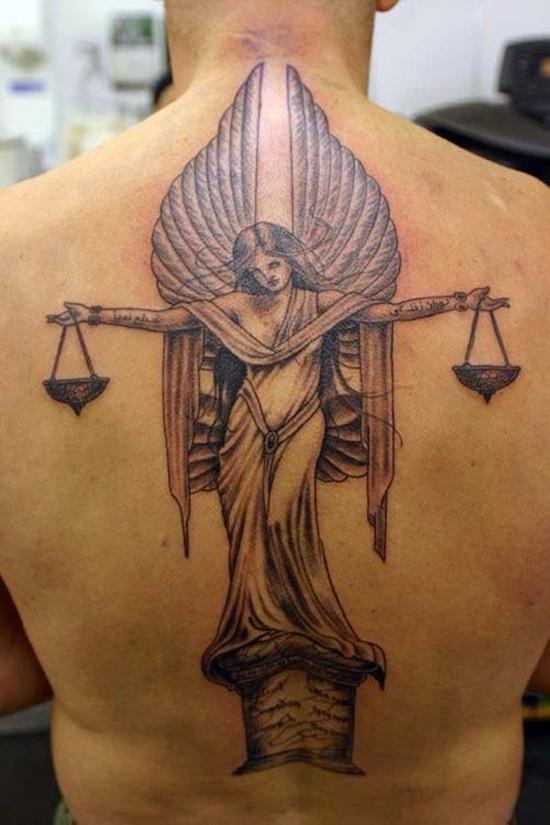 Libra Zodiac Tattoo (1)