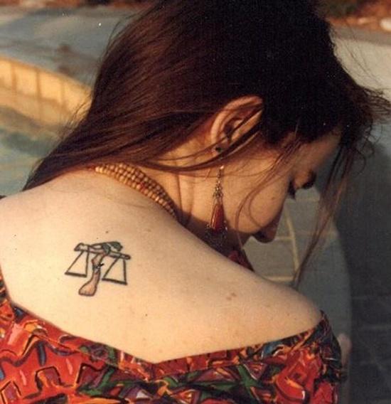 Libra Zodiac Tattoo (3)