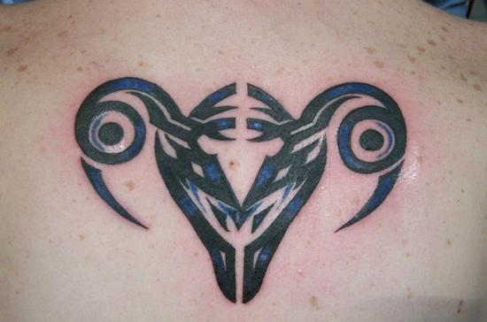 Libra Zodiac Tattoo (8)