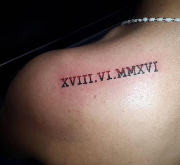 260 Best Roman Numeral Tattoos 2020 Font Styles Amp Numbers Designs
