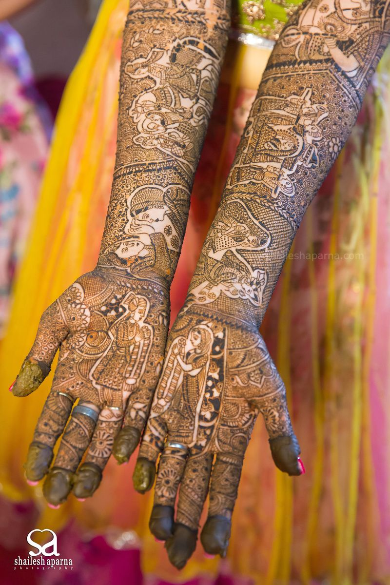 Marwari Mehndi Design Images (1)