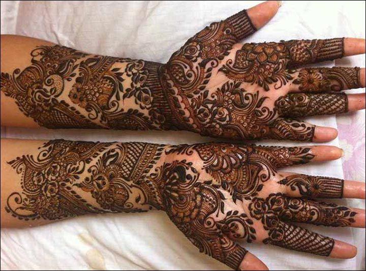 Marwari Mehndi Design Images (101)