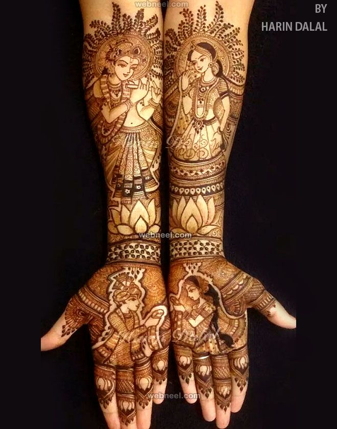 Marwari Mehndi Design Images (107)