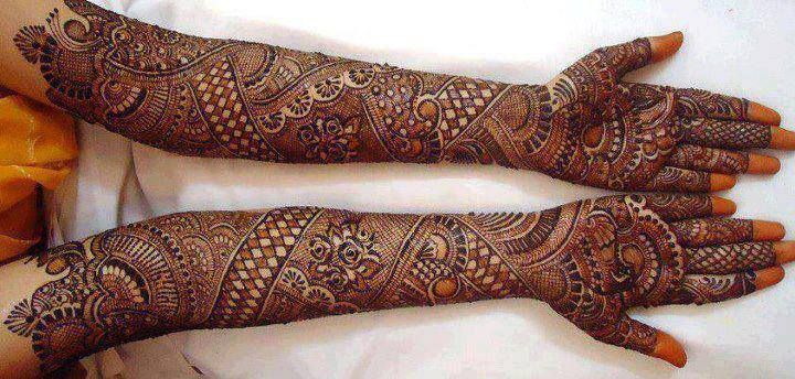 Marwari Mehndi Design Images (109)