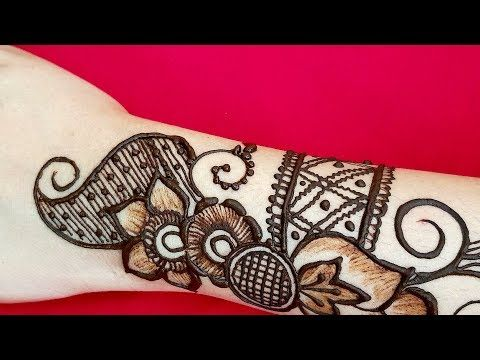 Marwari Mehndi Design Images (111)