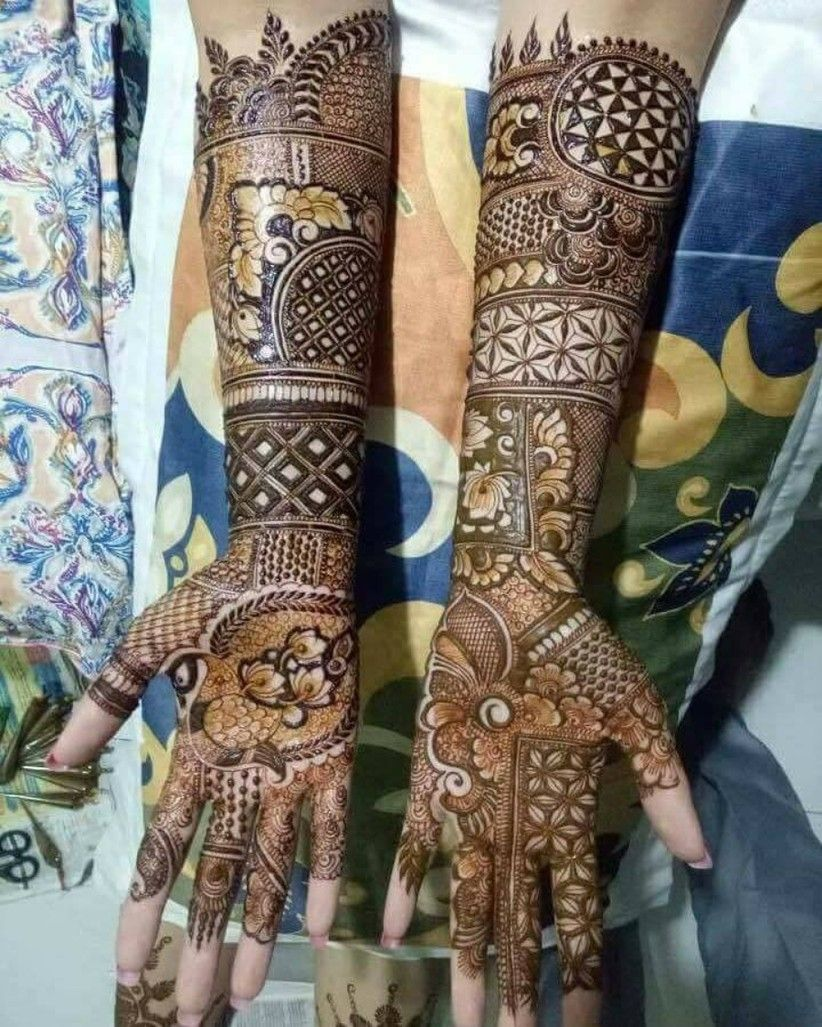 Marwari Mehndi Design Images (113)