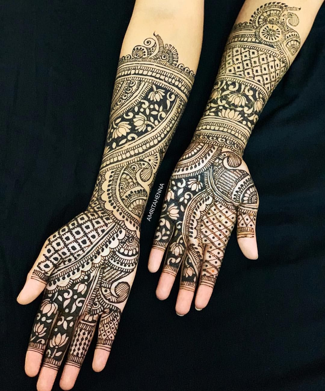Marwari Mehndi Design Images (118)