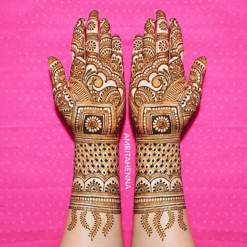 Marwari Mehndi Design Images (12)