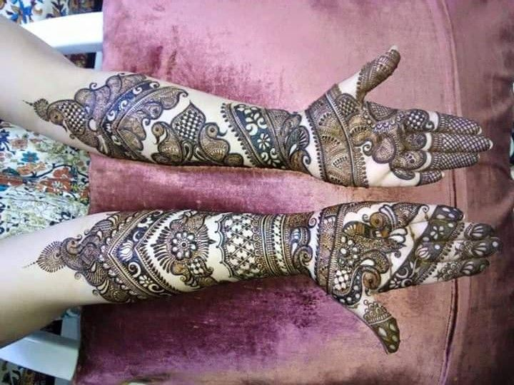 Marwari Mehndi Design Images (121)