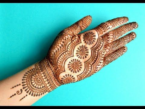 Marwari Mehndi Design Images (124)