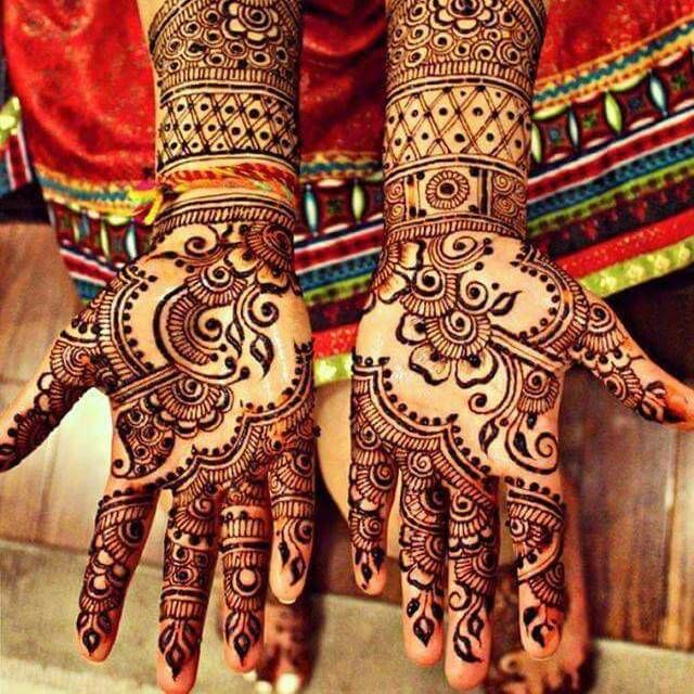 Marwari Mehndi Design Images (132)