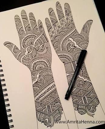 Marwari Mehndi Design Images (134)