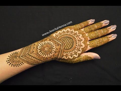 Marwari Mehndi Design Images (135)