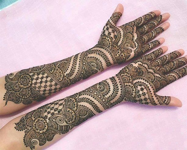 Marwari Mehndi Design Images (144)