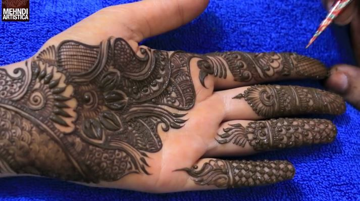 Marwari Mehndi Design Images (146)