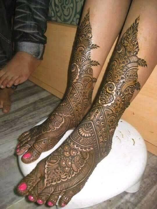 Marwari Mehndi Design Images (154)