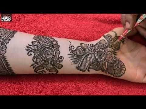 Marwari Mehndi Design Images (155)