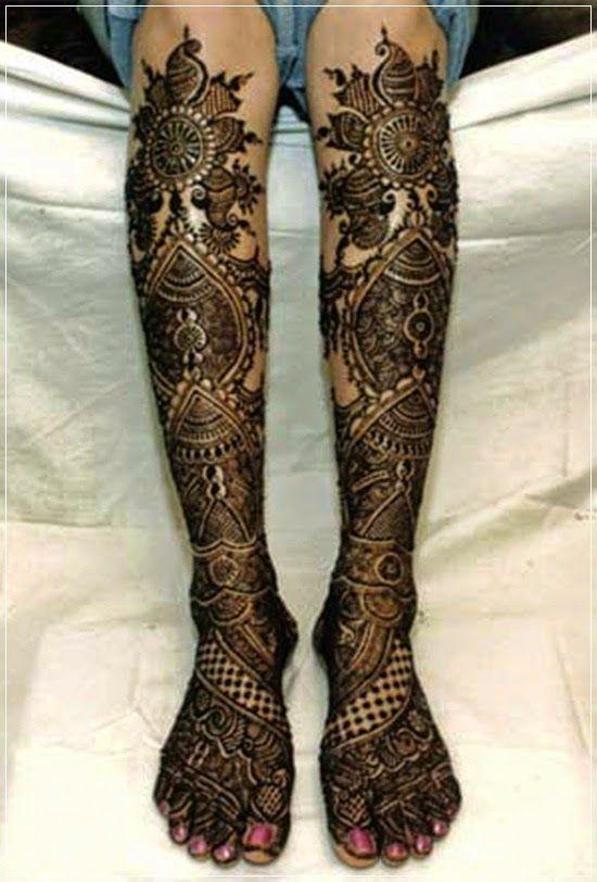 Marwari Mehndi Design Images (156)