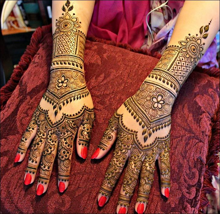 Marwari Mehndi Design Images (16)