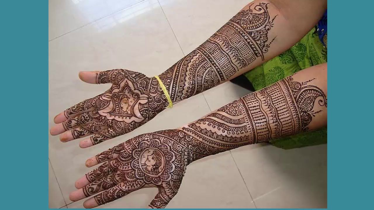 Marwari Mehndi Design Images (160)