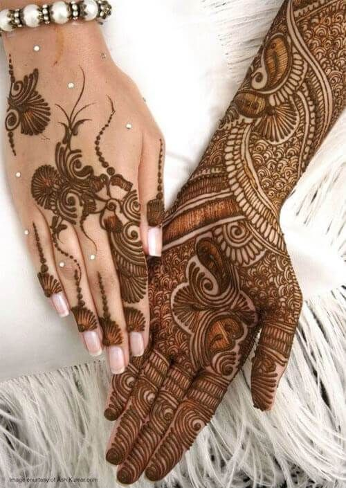 Marwari Mehndi Design Images (164)