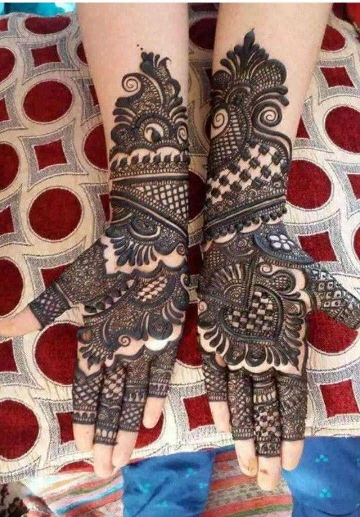 Marwari Mehndi Design Images (167)