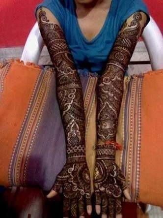 Marwari Mehndi Design Images (170)