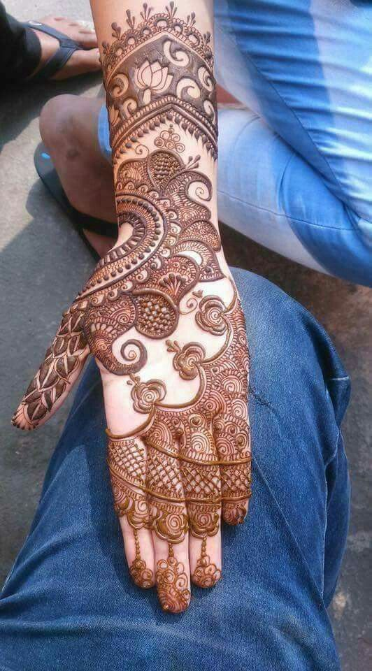 Marwari Mehndi Design Images (173)