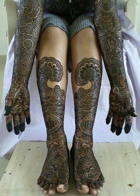 Marwari Mehndi Design Images (175)