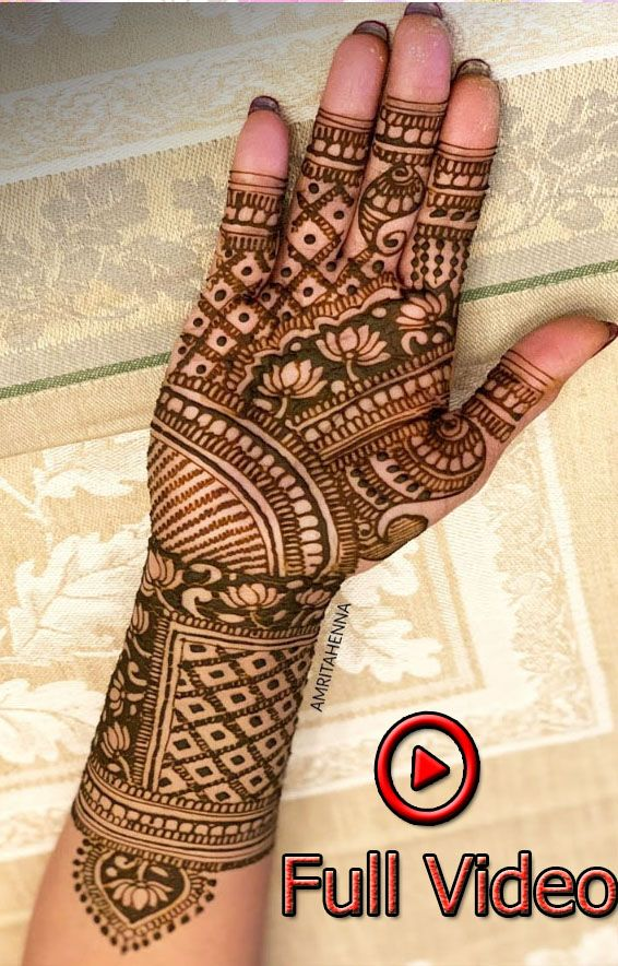 Marwari Mehndi Design Images (2)