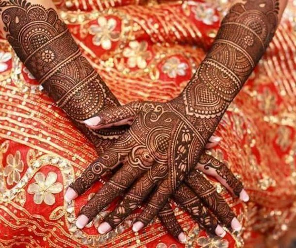 Marwari Mehndi Design Images (25)