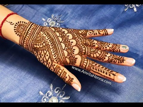 Marwari Mehndi Design Images (3)