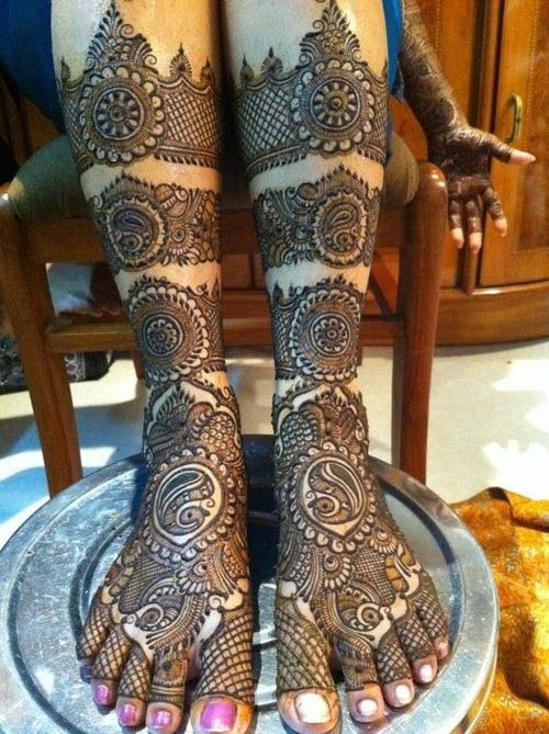 Marwari Mehndi Design Images (39)