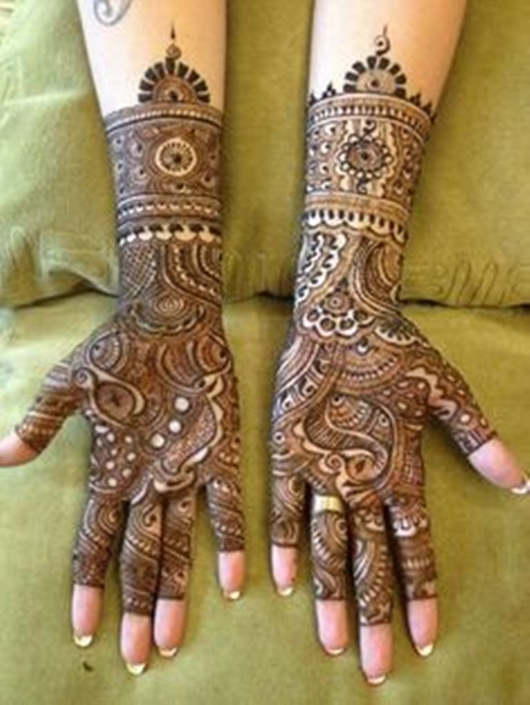 Marwari Mehndi Design Images (40)