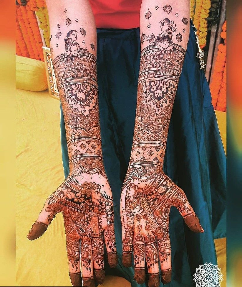 Marwari Mehndi Design Images (48)