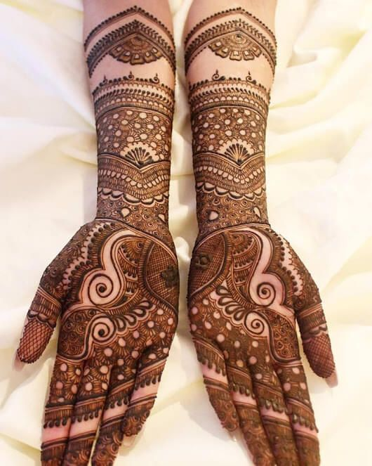 Marwari Mehndi Design Images (50)