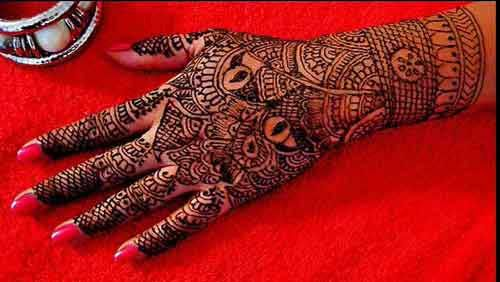 Marwari Mehndi Design Images (51)