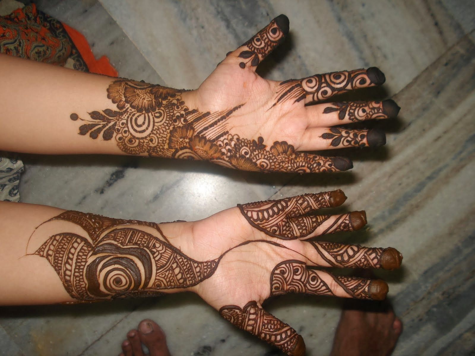 Marwari Mehndi Design Images (58)