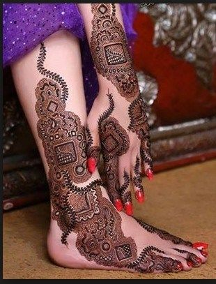 Marwari Mehndi Design Images (6)