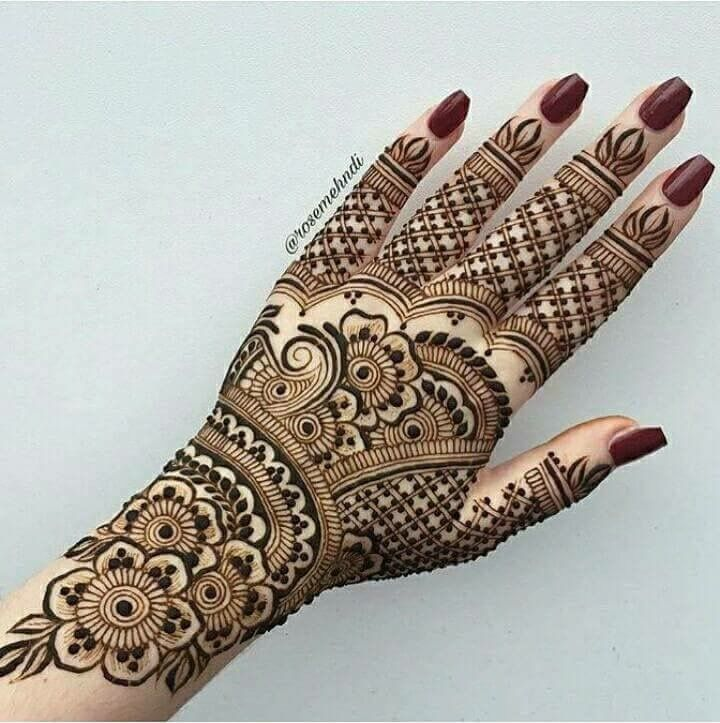 Marwari Mehndi Design Images (7)